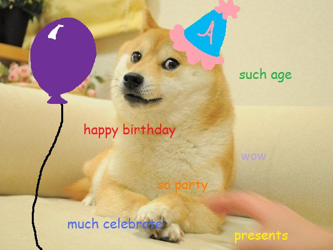 Ken Kiraly Doge Birthday Greeting