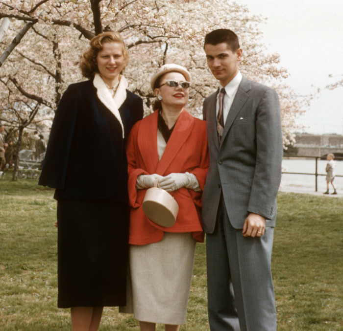 Jim Kiraly with his wife Grace Kiraly and mother Ann Kiraly