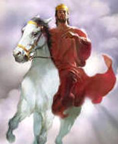 Christ and I will ride Jim Kiraly