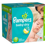 Diapers box