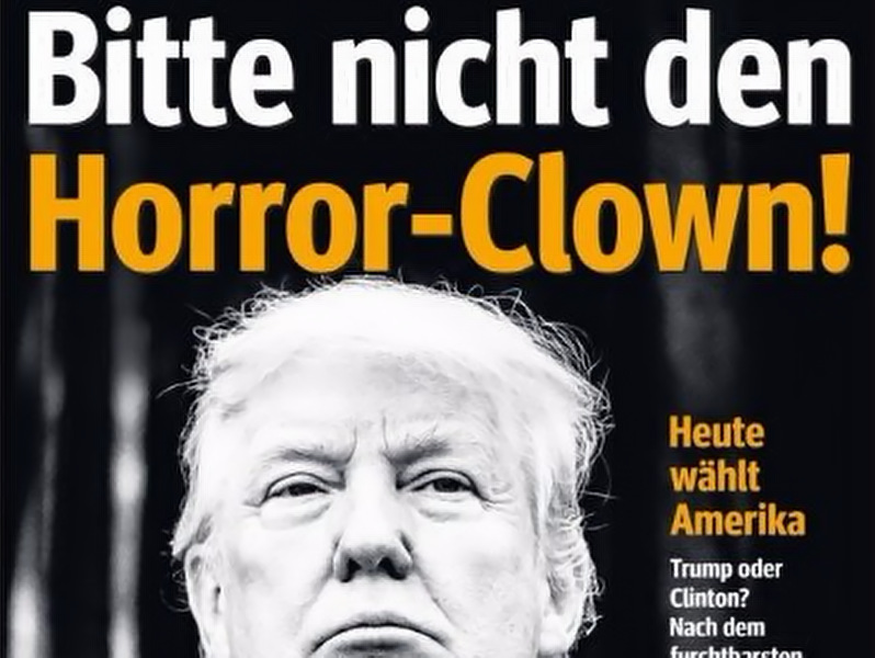 Trump Horror Clown