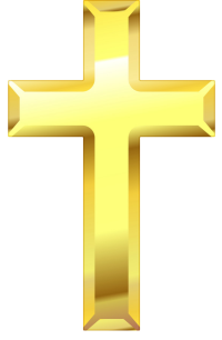 Gold Cross of Love