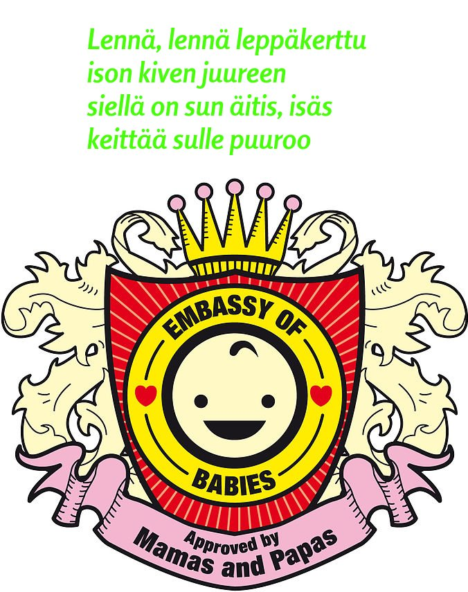 Finnish Baby Card