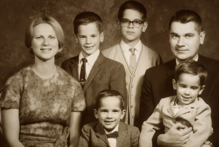 Kiraly Family Portrait circa 1967 to 1968