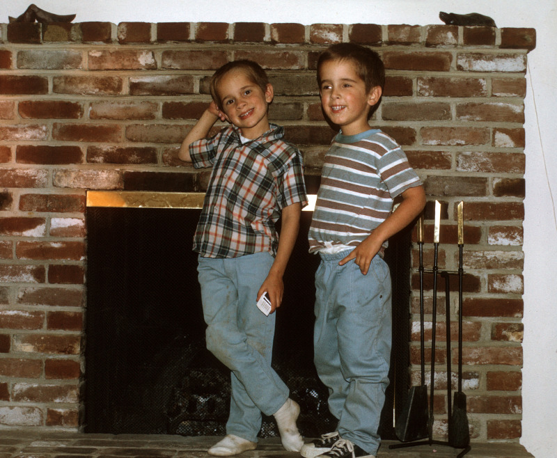 This is Ken Kiraly with his brother Scott Kiraly