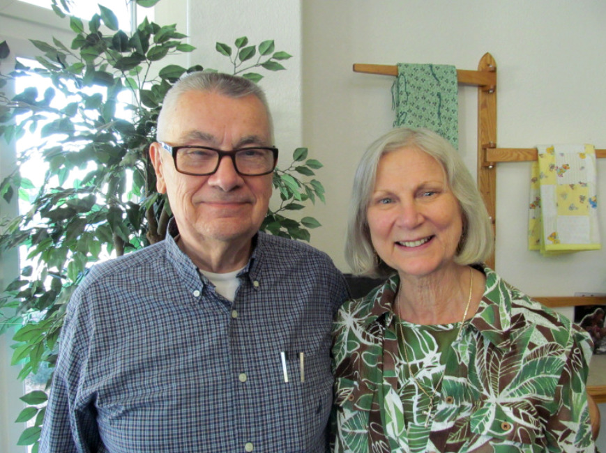 Jim Kiraly of Solvang, CA and his wife Grace Kiraly